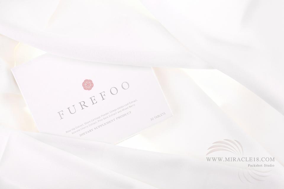 ถ่ายภาพสินค้า อาหารเสริม FUREFOO