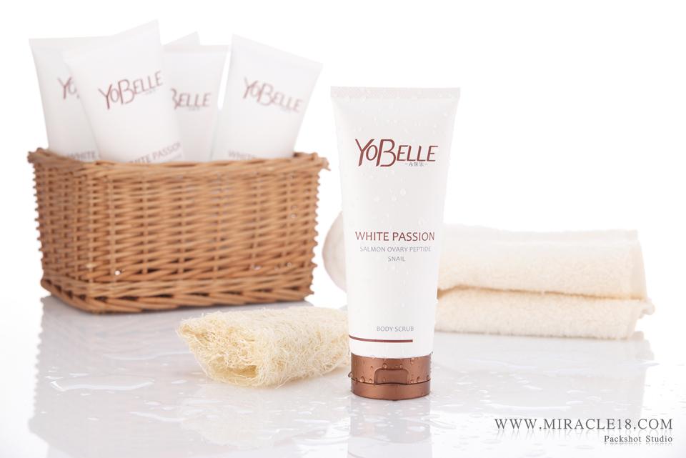 ถ่ายภาพสินค้า เครื่องสำอาง ผลิตภัณฑ์ YoBelle