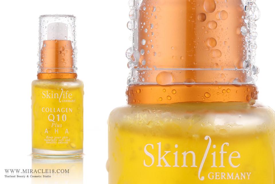 ถ่ายภาพสินค้า เครื่องสำอาง SkinLife