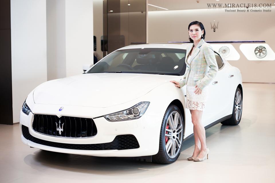 ถ่ายภาพผู้บริหาร บริษัทรถยนต์ MASERATI