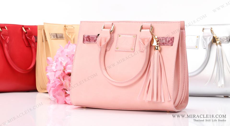 ถ่ายภาพสินค้า ผลิตภัณฑ์ กระเป๋า Aurica