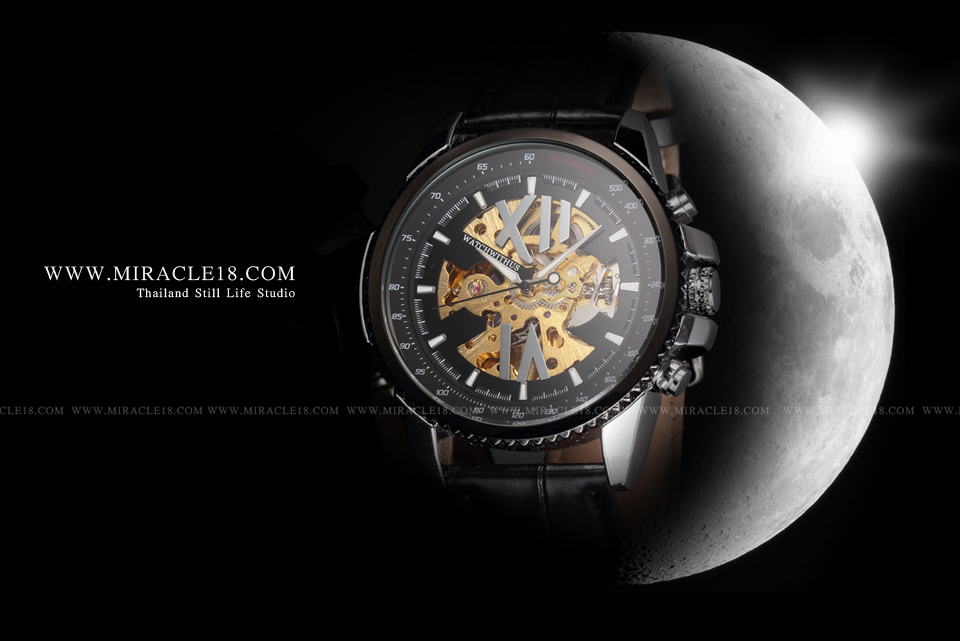 ถ่ายภาพสินค้า ผลิตภัณฑ์ นาฬิกา