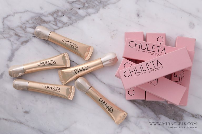 ถ่ายภาพสินค้า ผลิตภัณฑ์ เครื่องสำอาง CHULETA