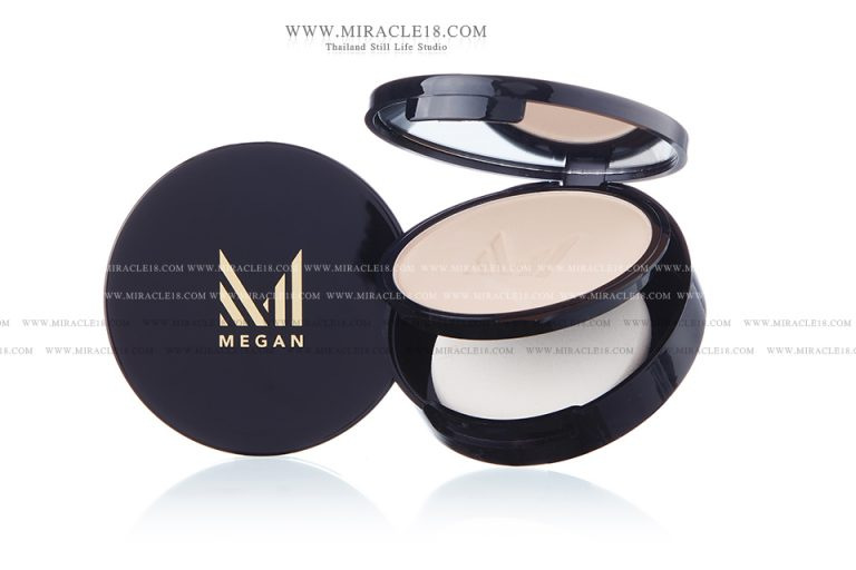 รับถ่ายภาพสินค้า ผลิตภัณฑ์ แป้งพัพ MEGAN